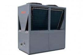 空气能热泵游泳池热水机:25HP 顶出风风