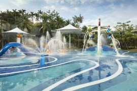 160立方室外儿童游泳池设备设计方案